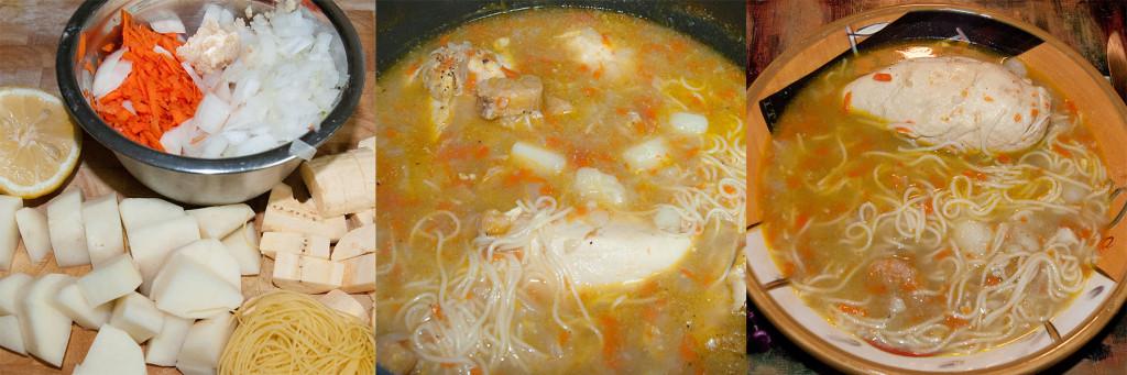 Process soup